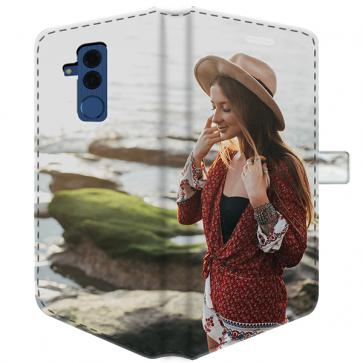 Huawei Mate 20 Lite - Coque Portefeuille Personnalisée (Sur Les 2 Faces)