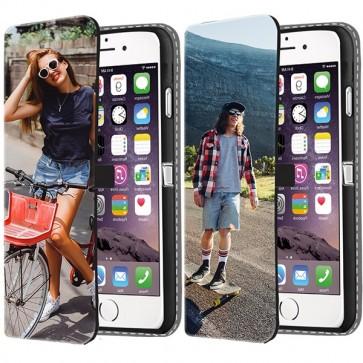 iPhone 7 PLUS - Coque Portefeuille Personnalisée (Sur L'avant)