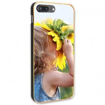 iPhone 8 Plus - Coque Personnalisée en Bois de Bambou