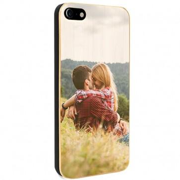 iPhone 8 - Coque Personnalisée en Bois de Bambou