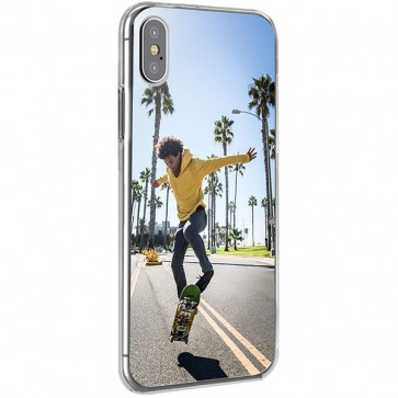 iPhone XS - Coque Silicone Personnalisée