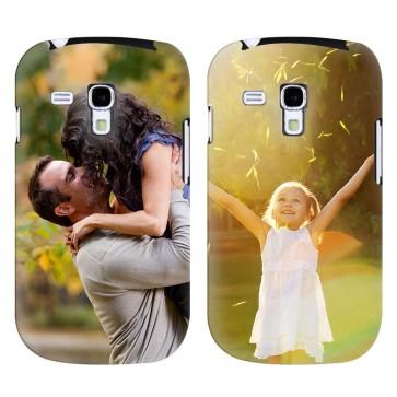 Samsung Galaxy S3 Mini - Coque Rigide Personnalisée à Bords Imprimés