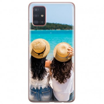 Samsung Galaxy A51 - Coque Silicone Personnalisée