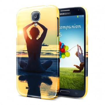 Samsung Galaxy S4 Mini - Coque Rigide Personnalisée à Bords Imprimés