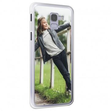Samsung Galaxy J6 - Coque Silicone Personnalisée
