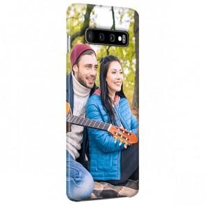 Samsung Galaxy S10 - Coque Rigide Personnalisée à Bords Imprimés