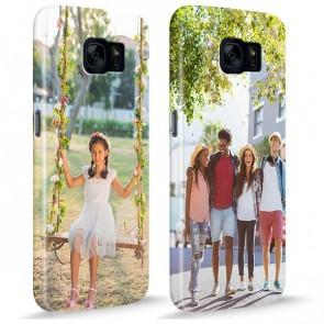 Samsung Galaxy S7 - Coque Rigide Personnalisée à Bords Imprimés