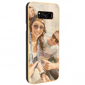 Samsung Galaxy S8 - Coque Personnalisée en Bois de Bambou