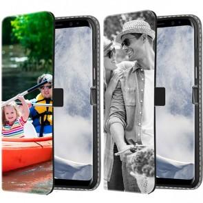 Galaxy S8 PLUS - Coque Portefeuille Personnalisée (Sur L'avant)