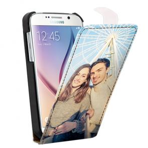 Samsung Galaxy S6 - Coque Personnalisée à Rabat - Noire et Blanche