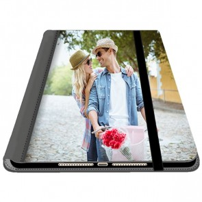 iPad Air 1 - Coque Portefeuille Personnalisée (Sur L'avant)