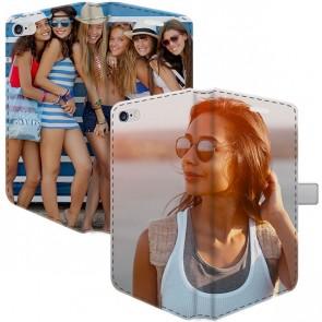 iPhone 5, 5S & SE - Coque Portefeuille Personnalisée (Sur Les 2 Faces)