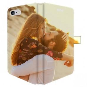 iPhone 6 PLUS & 6S PLUS - Coque Portefeuille Personnalisée (Sur Les 2 Faces)
