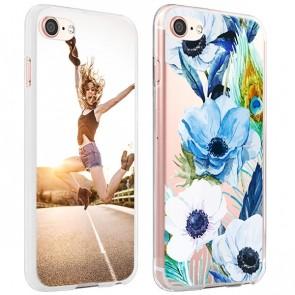 iPhone 8 - Coque Silicone Personnalisée - Plusieurs couleurs