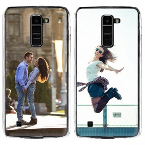 LG K10 - Coque Silicone Personnalisée