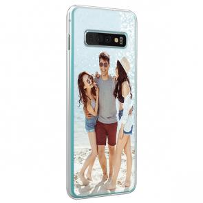 Samsung Galaxy S10 Plus - Coque Silicone Personnalisée