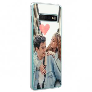 Samsung Galaxy S10 - Coque Silicone Personnalisée