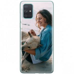 Samsung Galaxy A71 - Coque Silicone Personnalisée