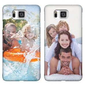 Samsung Galaxy Alpha - Coque Rigide Personnalisée à Bords Imprimés