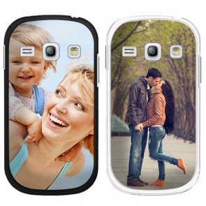 Samsung Galaxy Core - Coque personnalisée - Blanche
