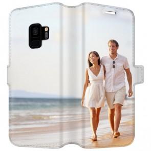 Samsung Galaxy S9 - Coque Portefeuille Personnalisée (Sur Les 2 Faces)