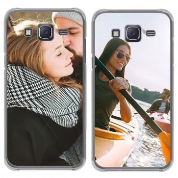 Samsung Galaxy J5 (2015) - Silikon Handyhülle Selbst Gestalten