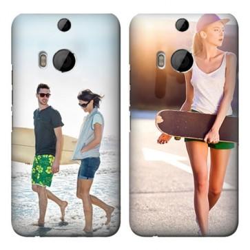 HTC One M8 - Rundum Bedruckte Hard Case Handyhülle Selbst Gestalten