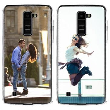 LG K10 - Silikon Handyhülle Selbst Gestalten