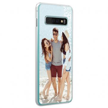 Samsung Galaxy S10 Plus - Silikon Handyhülle Selbst Gestalten