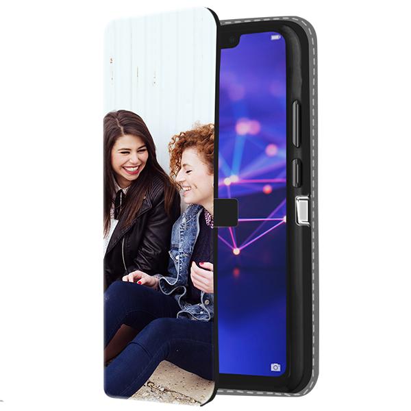 Huawei Mate 20 Lite - Wallet Case Selbst Gestalten (Vorne Bedruckt)