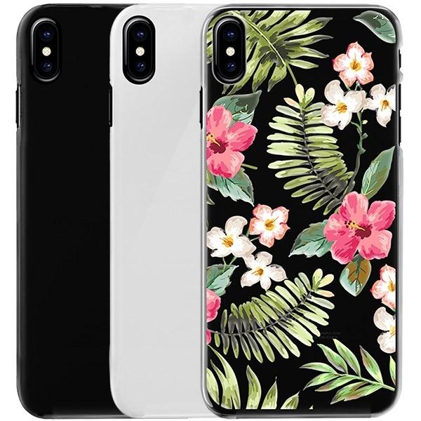Iphone X Hard Case Selbst Gestalten Schwarz Weiß Oder Transparent