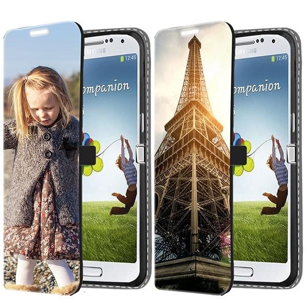 Samsung Galaxy S4 Hülle Selbst Gestalten - Flip Case