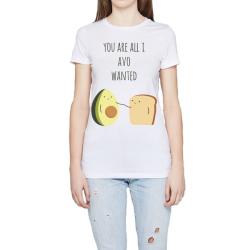 Frauen- Klassisches T-Shirt Rundhalsausschnitt