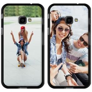 Samsung Galaxy Xcover 4 - Silikon Handyhülle Selbst Gestalten