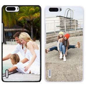 Honor 6 - Handyhülle selbst gestalten - Hard Case - Schwarz oder weiß