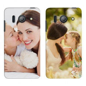 Huawei Ascend Y300 - Handyhülle selbst gestalten - Hard Case - Schwarz oder weiß