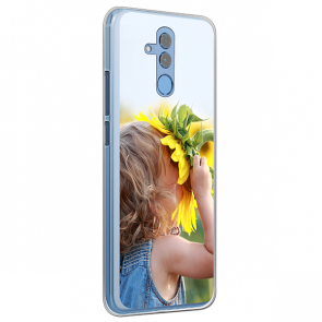 Huawei Mate 20 Lite - Silikon Hülle Selbst Gestalten