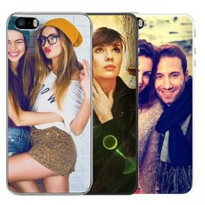 iPhone 5, 5S & SE - Silikon Handyhülle Selbst Gestalten