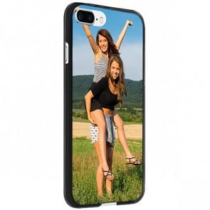 iPhone 8 PLUS - Silikon Hülle selbst gestalten - Schwarz, weiß oder transparent