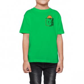 Kinder - Klassisches T-Shirt Rundhalsausschnitt 6-10 Jahre