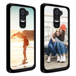 LG G2 - Handyhülle selbst gestalten - Hard Case - Schwarz