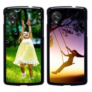 LG Nexus 5 - Handyhülle selbst gestalten - Hard Case - Schwarz