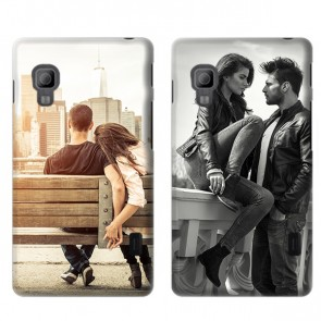 LG Optimus L5-II - Handyhülle selbst gestalten - Hard Case - Weiß