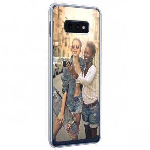Samsung Galaxy S10 E - Silikon Handyhülle Selbst Gestalten
