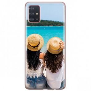 Samsung Galaxy A51 - Silikon Handyhülle Selbst Gestalten