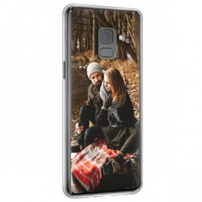 Samsung Galaxy A8 2018  - Hard Case Handyhülle selber gestalten