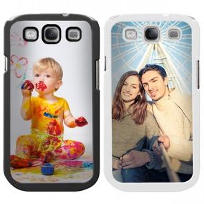 Samsung Galaxy S3 - Handyhülle selbst gestalten - Silikonhülle - Weiß