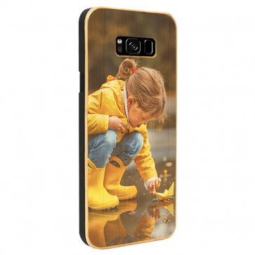 Samsung Galaxy S8 Plus - Personalised Wooden Case