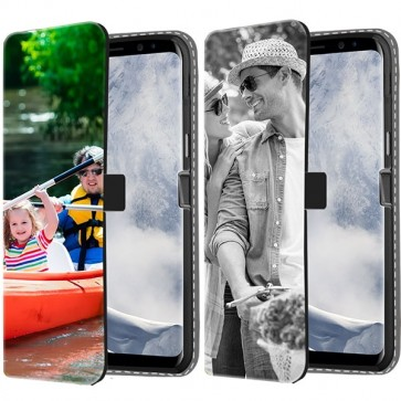 Samsung Galaxy S8 PLUS - Personalised Wallet Case (Front Printed)