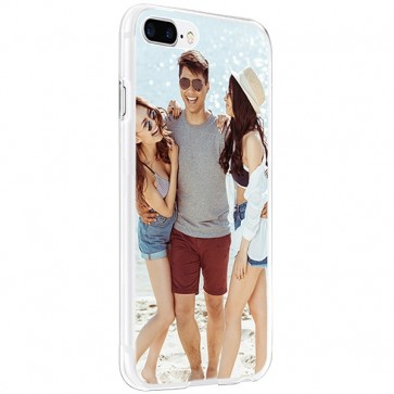 iPhone 8 PLUS - Personalised Hard Case - Black, White or Transparent